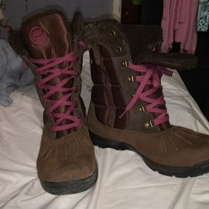 Women's Timberland thermal insulated boots waterpr